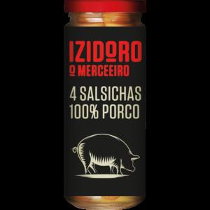 Salsichas 100% Porco 235g